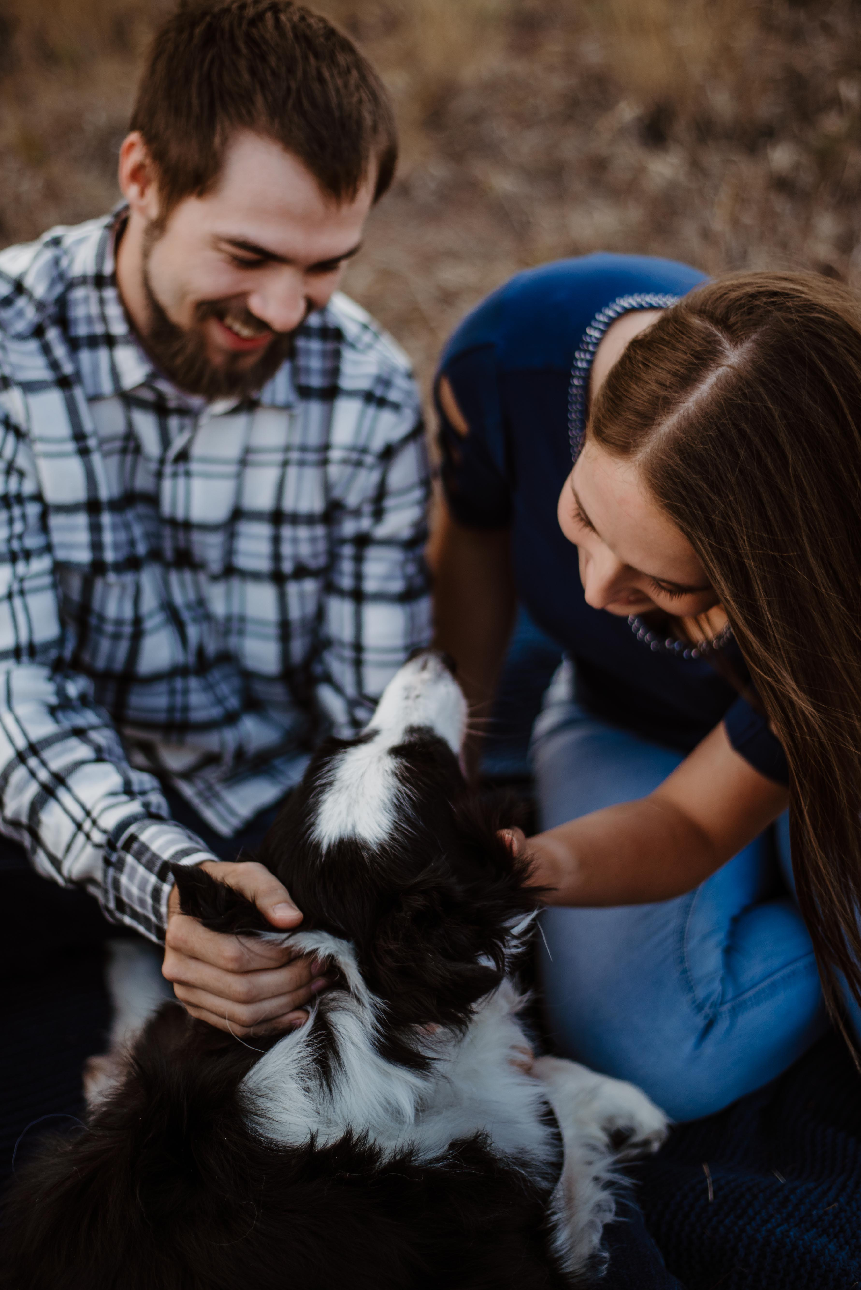 Shane and Shelby || Fort Collins Mountain Engagement